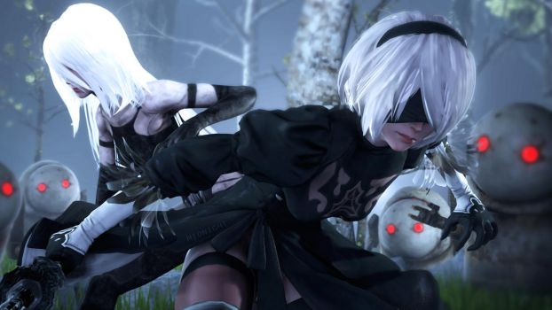 NieR  by Its-Midnight-Reaper