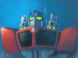 Rescue Bots  - Optimus Prime by Raikoh-illust