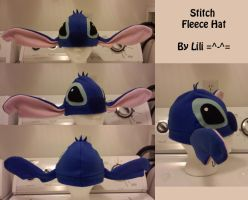 Stitch Fleece Hat by LiliNeko