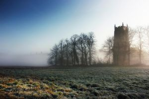 Church+Mist - Norfolk, UK by Coigach