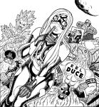 EMPOWERED vol.9 (out Aug.19!) cover inks by AdamWarren