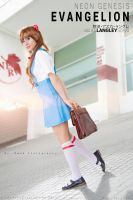 Asuka Langley uniform~~ by BelifyBel