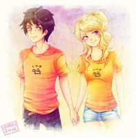 Percabeth by Vinvii