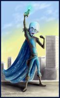 Megamind by silvermoonnw