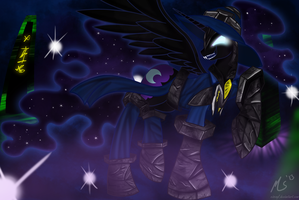 Nightmare Moon as Veigar by CiscoQL