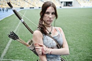 Lara Croft cosplay - WeGame 1 by TanyaCroft