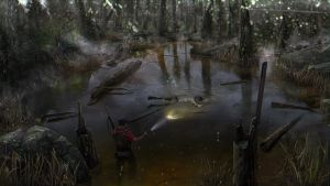 The Swamp Small by ellorygm