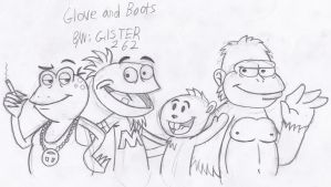 Art Collab: Glove and Boots by gilster262