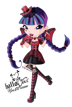 Musa HalloWinx chibi by MagiaBelievix