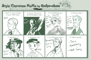 style meme wiff watson by PollyGuo