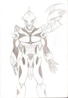 Warframe concept by Sil-Pencil
