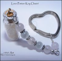 Love Potion Key Chain by 1337-Art