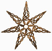 Celtic Seven Pointed Star by Artistfire