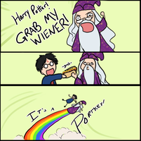 HARRY POTTER, GRAB MY WIENER by JLMagian