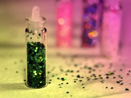bottles with glitter 2 by AdrianaKH-75