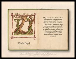 D is for Dryad by WildWoodArtsCo
