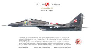 Mig-29 fulcrum profile by rOEN911