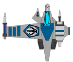 Mandalorian Fighter by TheSciFiArtisan