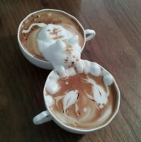 3D-Latte-Cat by TheCutePhotography