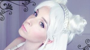 Sailor Moon Princess Serenity Makeup by Rosier-du-mal