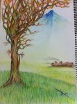 old tree but still beauty by AHmedAlruwaythi
