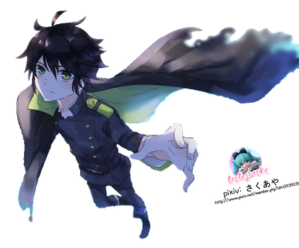 Seraph of the end- Yuu Render 3 by TutosBuho
