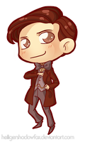 Commission: chibi Doctor by HeiligerShadowfax