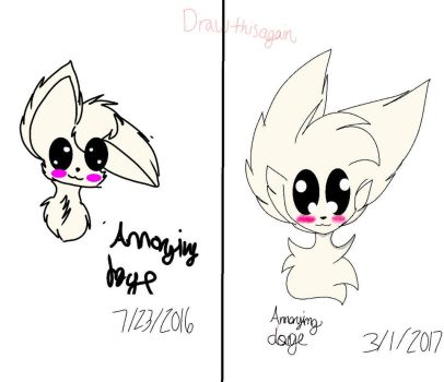 Re draw of the annoying dog by WaffleBomb