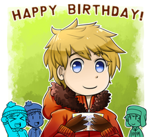 HBD to Kenny by Reaper-Mcasaurus