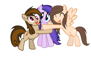Group Hugs (Gift Request) by MaoMao27