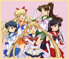 + Sailor Moon + Supers by SailorSedna