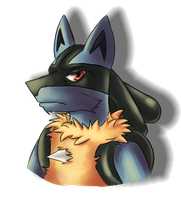Lucario by kovault