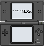 Nintendo DS lite [black] by BLUEamnesiac