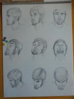 9 views of the HEAD by Jacksparrowsbabe