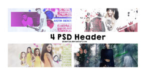 4 PSD HEADER by Shawolza