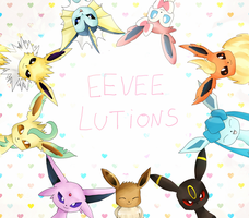 eeveelutions by Haruliina