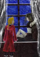 Edward and Envy of the window by stellinanera
