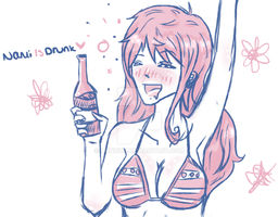 Nami is Drunk by HONNUH