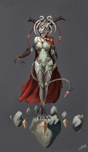 Mitera, mother of the undying by jackiefelixwei