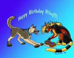 Happy B-day Riley by Susano-Reborn