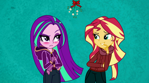 (SunAria) Under the Mistletoe by LyricGemVA