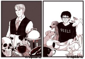 (nbc Hannibal) Food And Feels by blacktenshi22