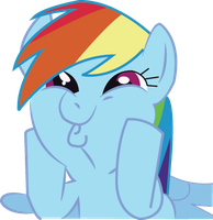 Rainbowdash vector by 10MarioBrosmaster