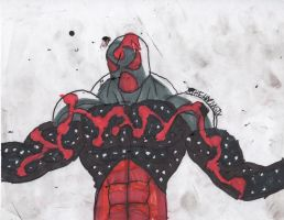 Cosmic Scarlet Spider (Kaine) by ChahlesXavier