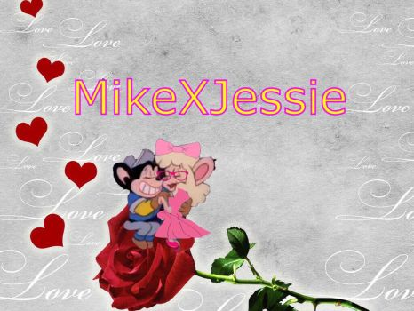 Mighty Mouse The New Adventures! MikeXJessie by PrincessPeachFan100