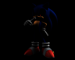 a little halloween sonic i think? by nothing111111