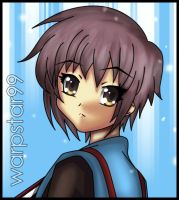 Yuki Nagato by warpstar99