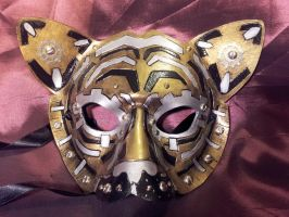 Techno Tiger Mask by Jedi-With-Wings