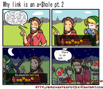 Why link is an a+$hole pt.2 by BrokenTeapot