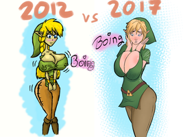 2012 vs 2017 by sampleguy